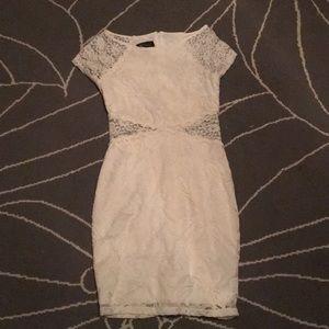 White formal BCX dress